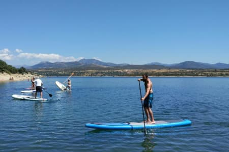 Stand up paddle Madrid